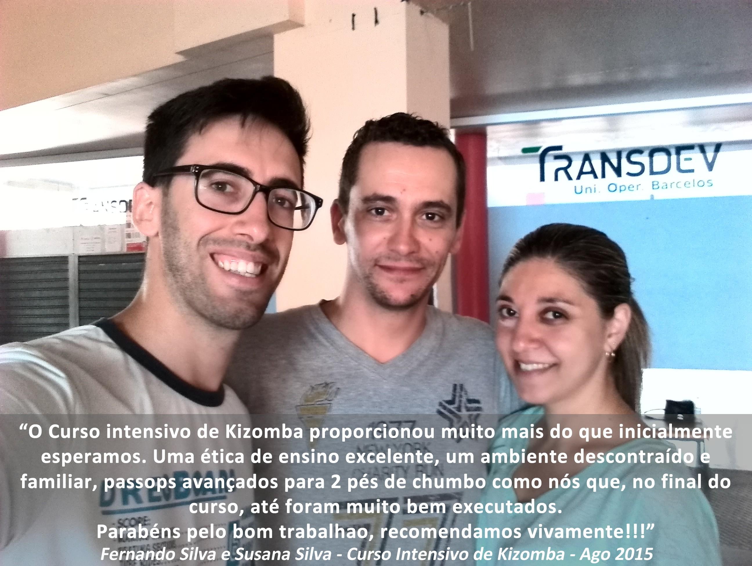 Testemunho Fernando Silva e Susana Silva sobre as aulas de dança da Academia João Capela