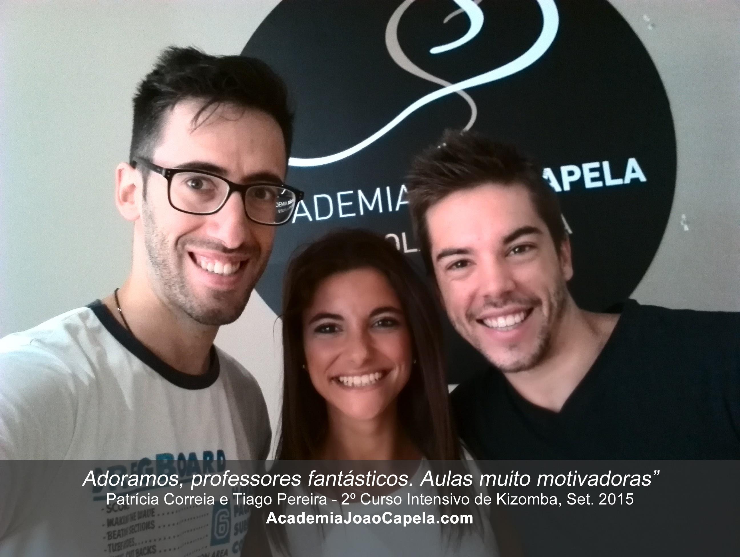 Testemunho Patrícia Correira e Tiago Pereira - Aulas de Kizomba na Academia João Capela em Barcelos