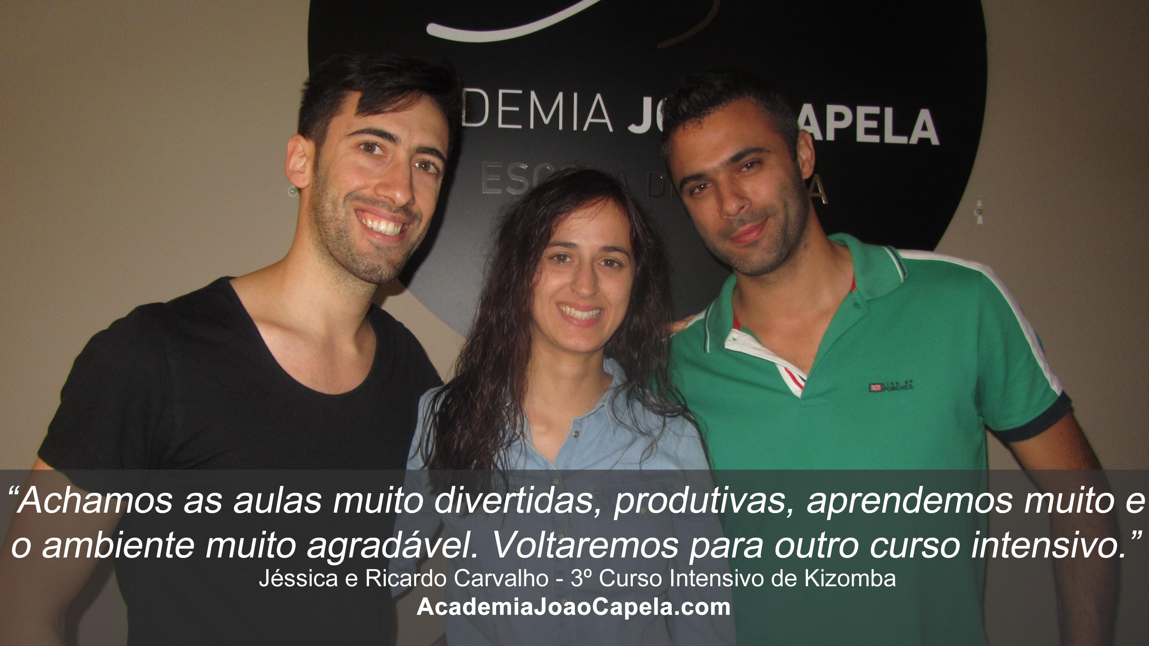 Testemunho Jessica e Ricardo Carvalho 3º Curso Intensivo de Kizomba em Barcelos