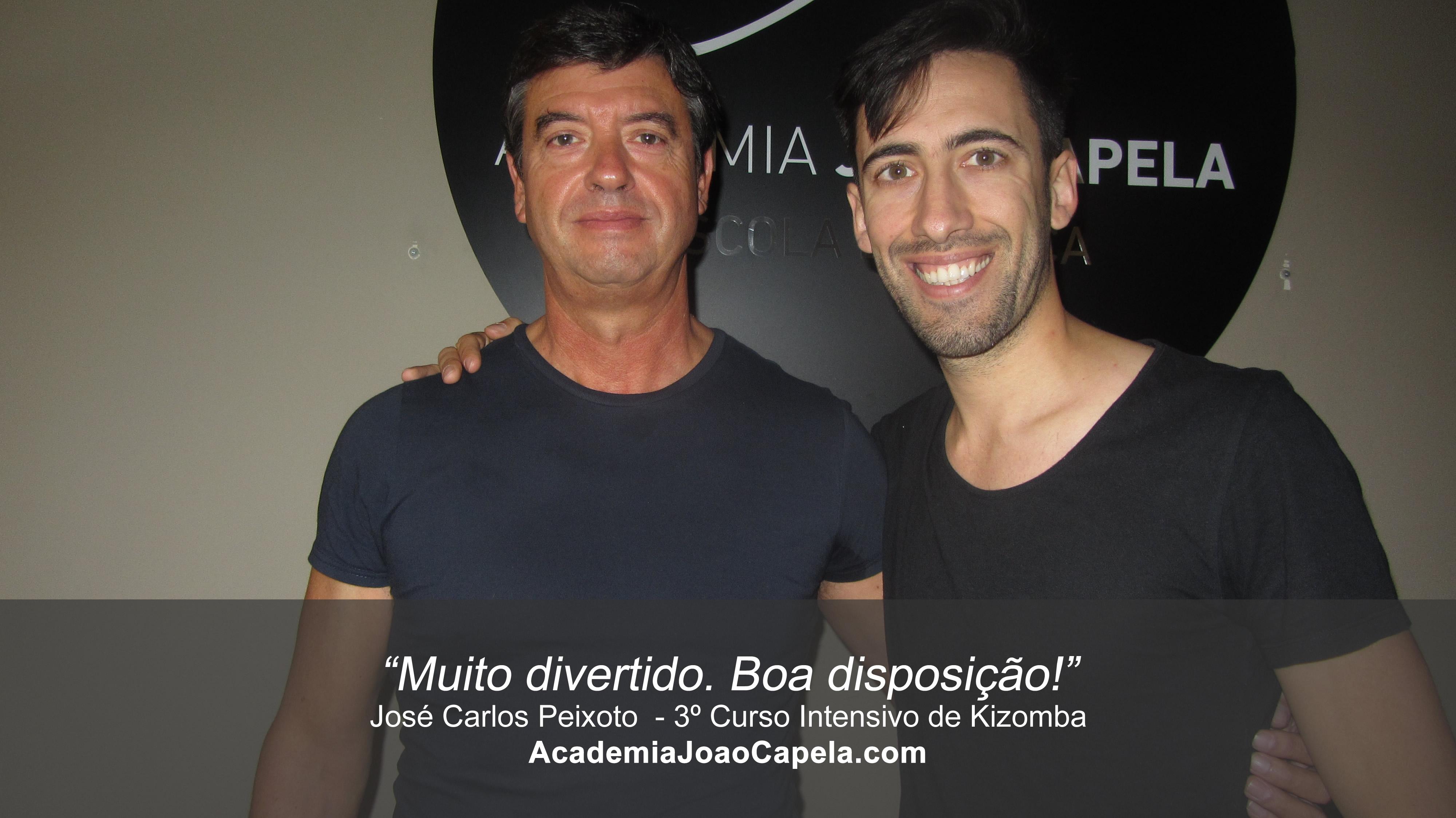 Testemunho José Carlos Peixoto 3º Curso Intensivo de Kizomba em Barcelos