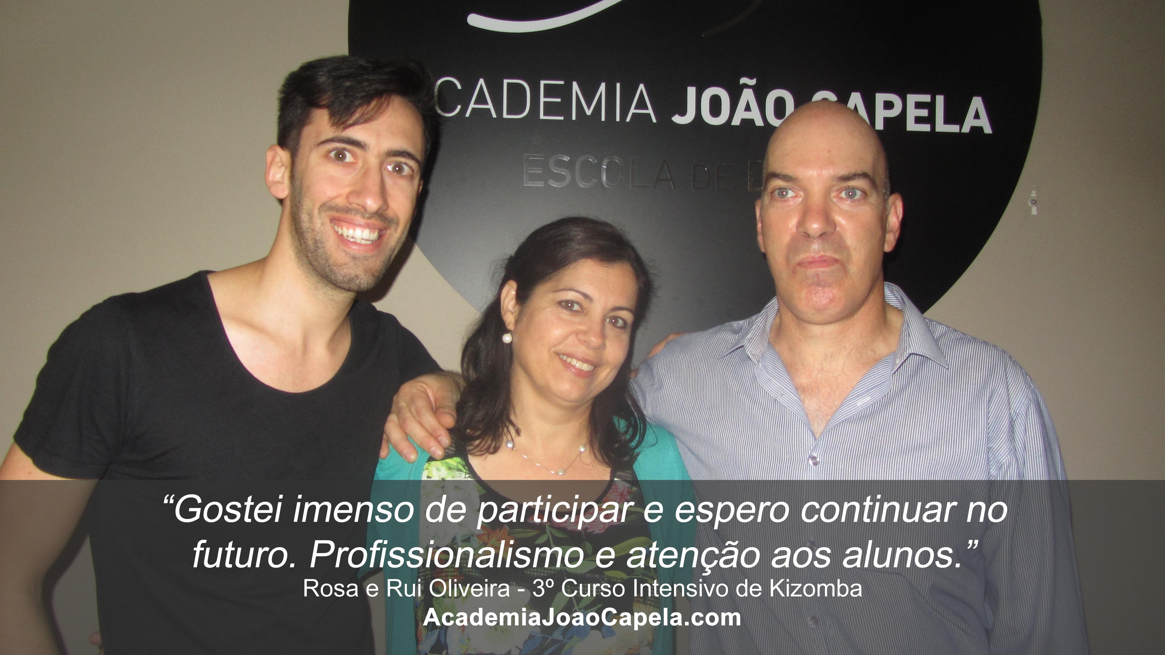 Testemunho Rosa e Rui Oliveira 3º Curso Intensivo de Kizomba em Barcelos