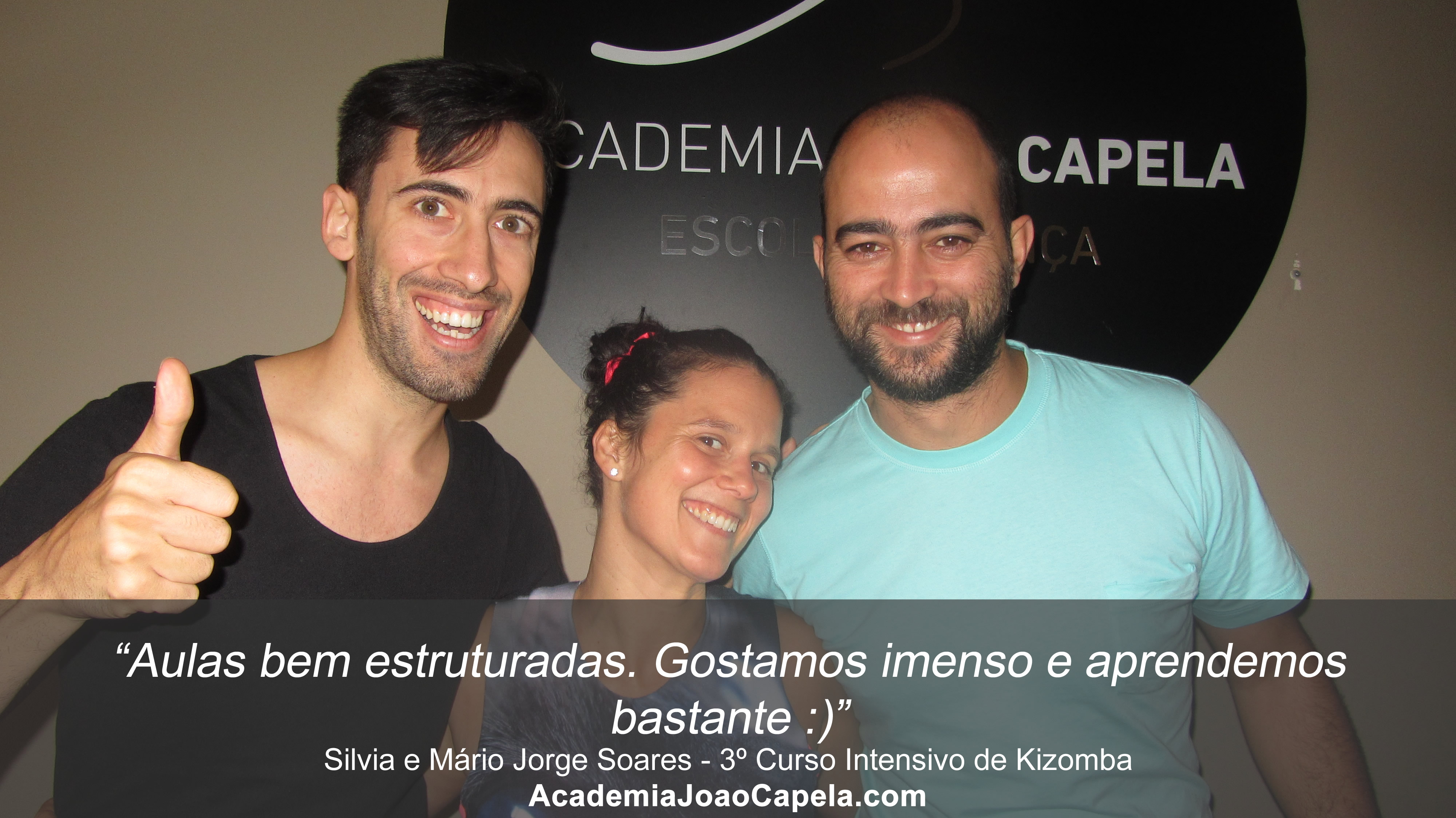 Testemunho Silvia e Mário Jorge Soares 3º Curso Intensivo de Kizomba em Barcelos