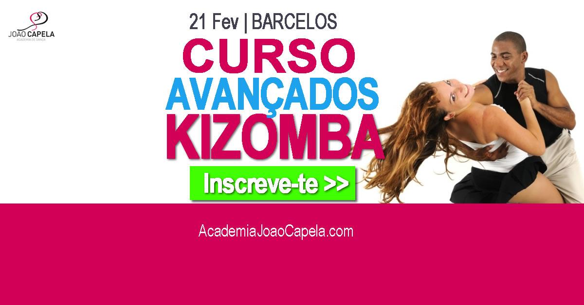 Curso intensivo de Kizomba Avançados Barcelos