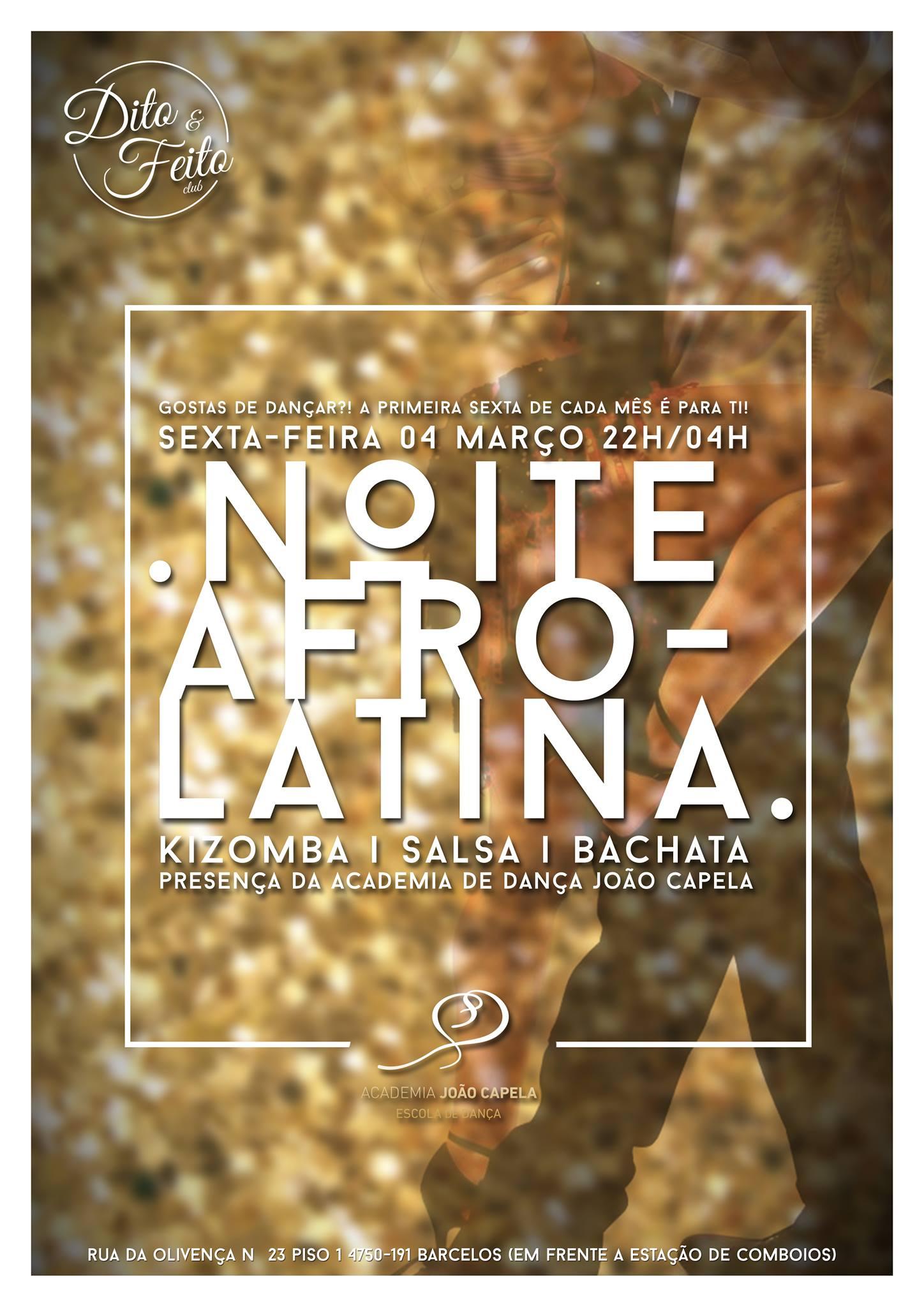 Noite Afro Latina 4 Mar 16 Poster