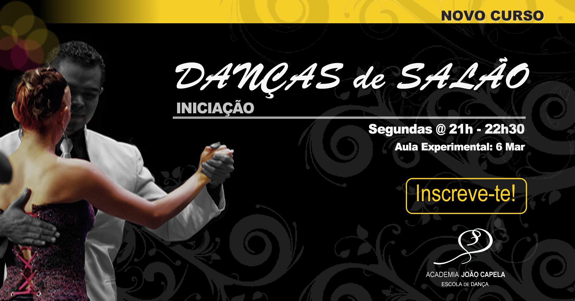 Nova Turma Danças de Salão Iniciação Barcelos