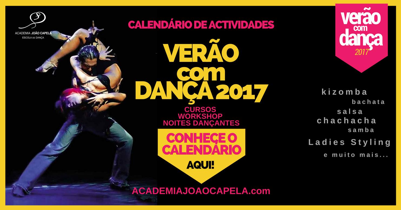Verão com Dança 2017 - Cursos e Workshops de Kizomba, Salsa, Bachata e muito mais!
