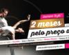 2 meses pelo preço de 1 - Aulas de Dança Academia João Capela 2017